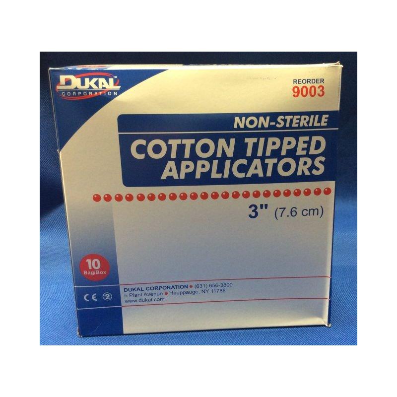 Ndc Inc Duk 9003 3045 Cotton Tip App 3in Ns 1000 S