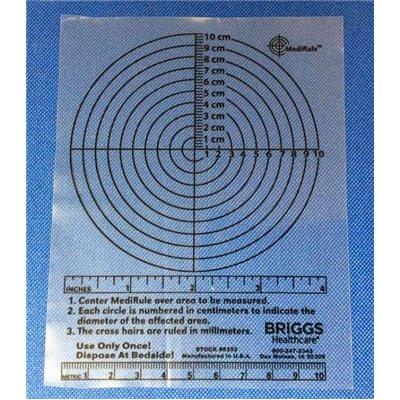 Briggs Healthcare 6252 6195 Decubitus Sm Measuring